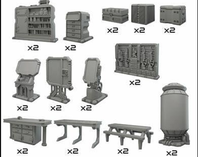 Terrain Crates: Battlezone - Starship Scenery - SS304 - Mantic Games