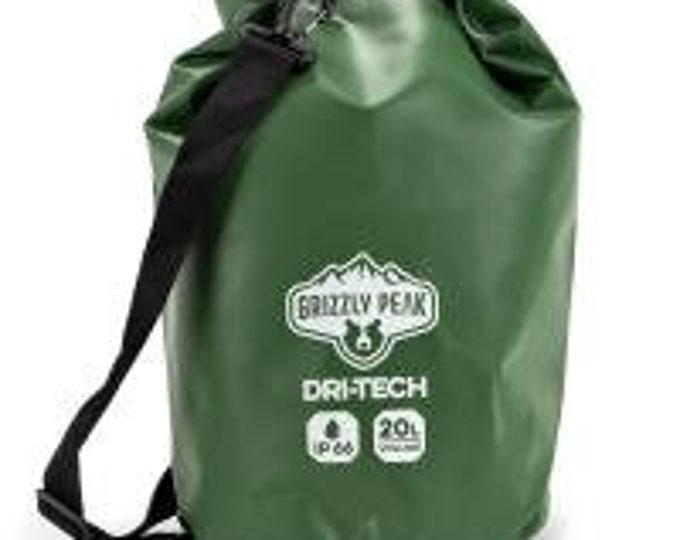 20L Dri-Tech Waterproof Dry Bag - Grizzly Peak