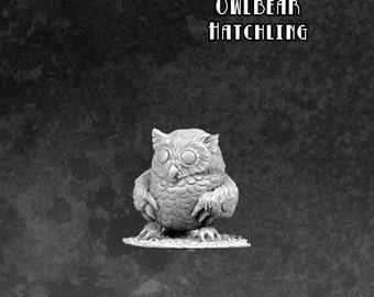 Sidekicks - Whodini The Owlbear - 60021 - Bombshell Miniatures