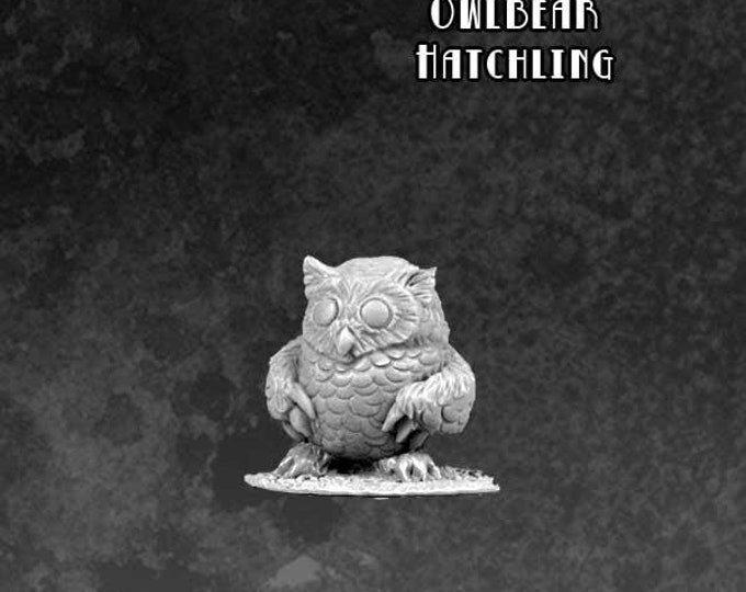 Sidekicks - Whodini The Owlbear - 60021 - Bombshell Miniatures