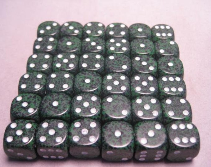 Recon Speckled 12mm d6 (36) - CHX25925 - Chessex