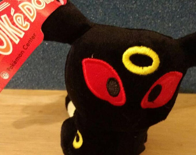 Plush Pokemon: 5 inch Umbreon