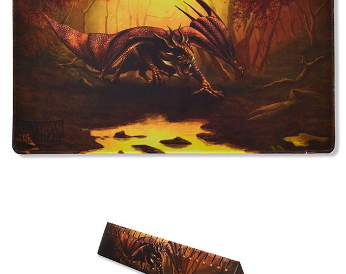 Dragon Shield: Playmat - Umber 'Teranha', Limited Edition - ATMDSH21511 - Arcane Tinmen