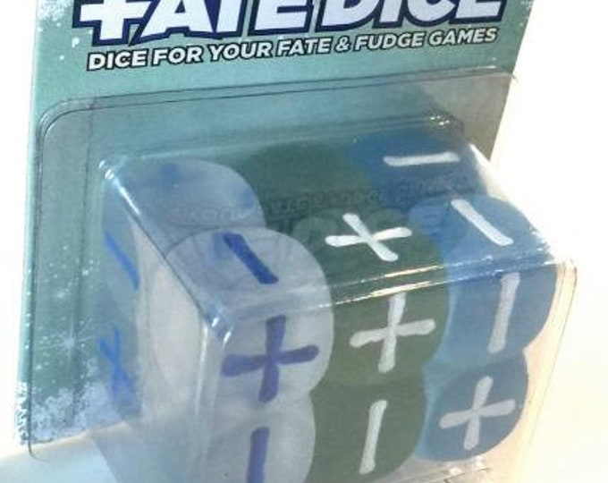 Fate Dice: Frost Dice - EHP9016 - Evil Hat Productions