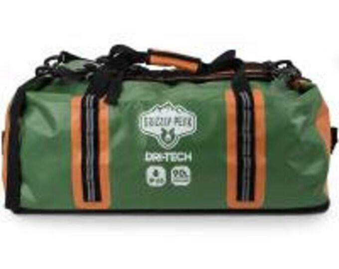 90L Dri-Tech Waterproof Dry Duffle Bag] - Grizzly Peak