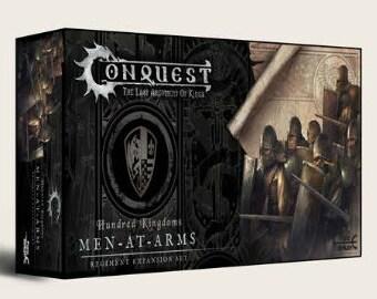 Conquest: Hundred Kingdoms - Men at Arms - ParaBellum Wargames