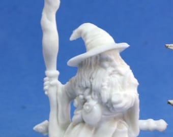 77075: Khael Stonekindle, Dwarf Wizard - Reaper Miniatures