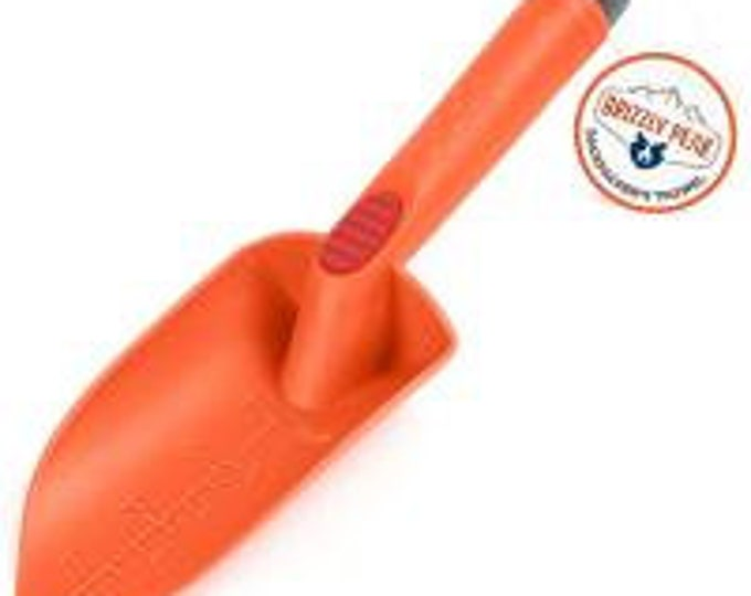 Backpackers Trowel, Orange and Gray - Grizzly Peak
