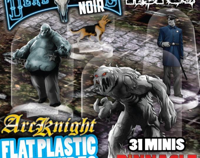 Flat Pack Miniatures: Deadlands Noir Horde - ArcKnight