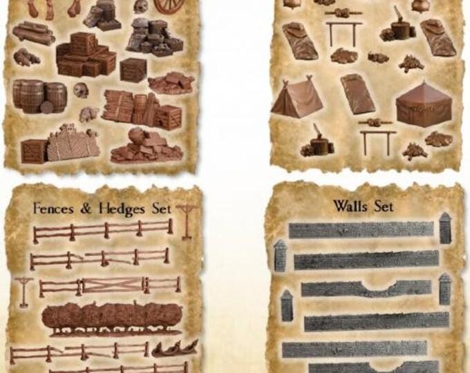 Terrain Crates: Battlefield Crate - Mantic Games (Backorder)