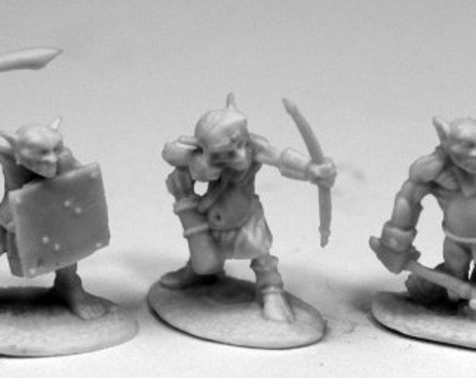 77445: Goblin Skirmishers (6) - Reaper Miniatures