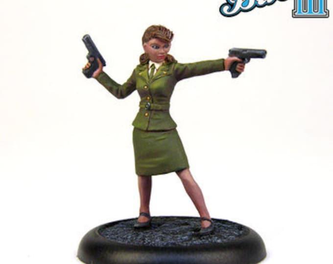 10058: Operative Haley - Bombshell Miniatures