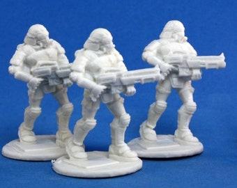 Nova Corp Riflemen (3) - 80015 - Reaper Miniatures