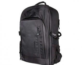 Black Card Carrying Backpack - Pirate Labs