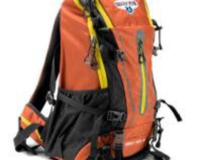 45L Internal Frame Backpack, Orange - Grizzly Peak