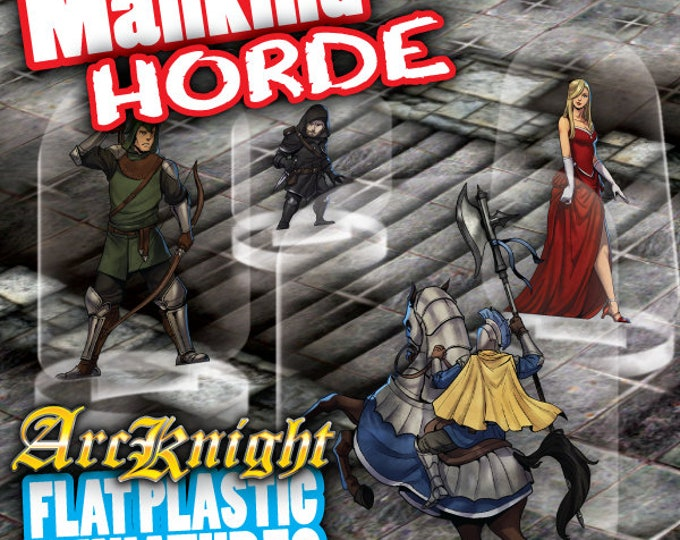 Flat Pack Miniatures: Mankind Horde - ArcKnight