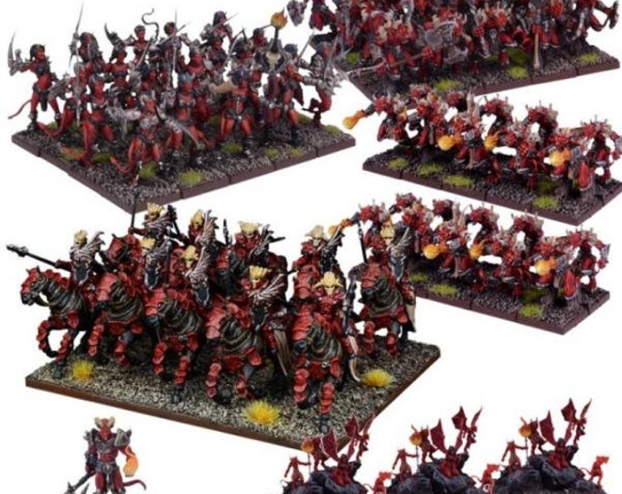 Kings Of War: (Forces Of The Abyss) Army - Mantic Games (Backorder)