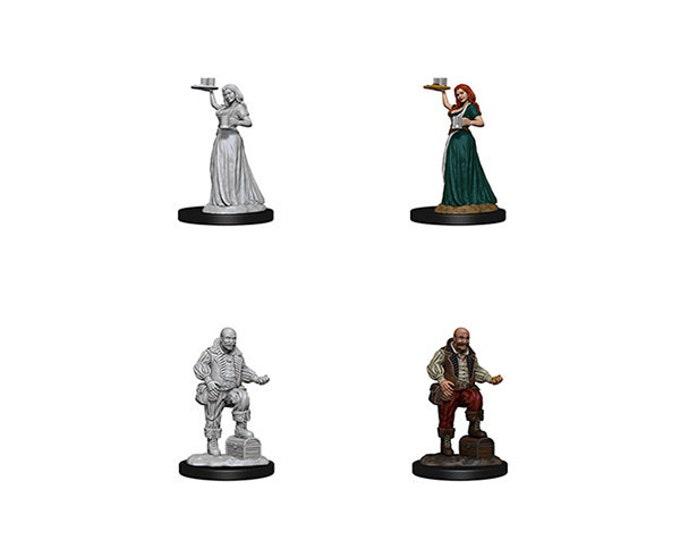Pathfinder Unpainted Minis: Merchants - 72584 - WizKids