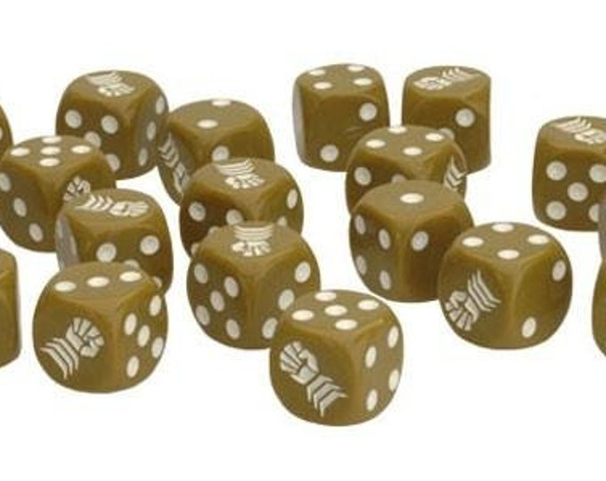 Flames of War: Armored Fist Dice (x20) - Battlefront Miniatures