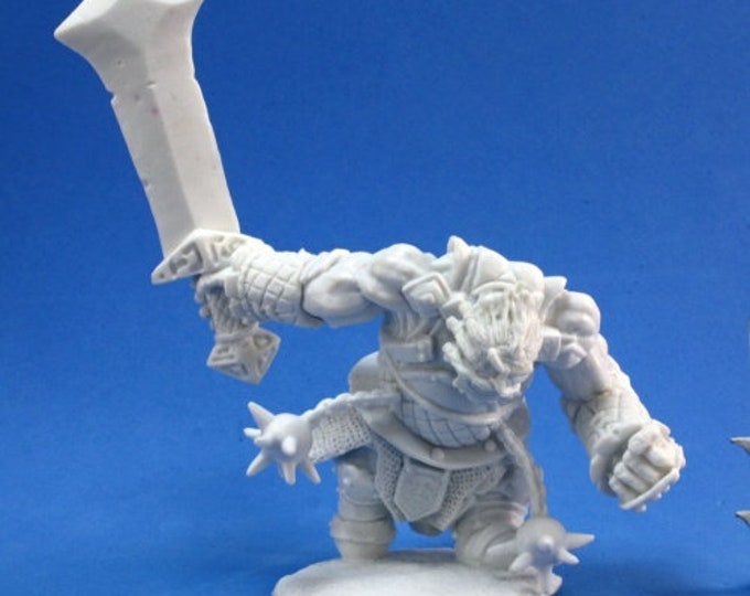 77178: Fire Giant Warrior - Reaper Miniatures