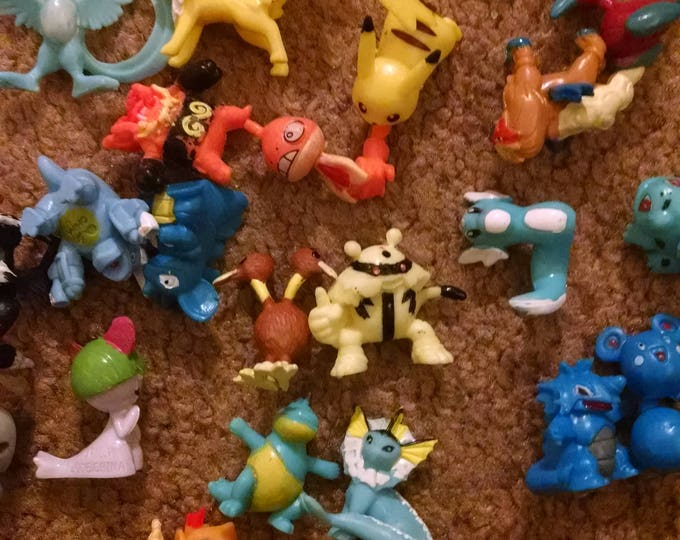 Small Pokemon Minifigures - 2cm
