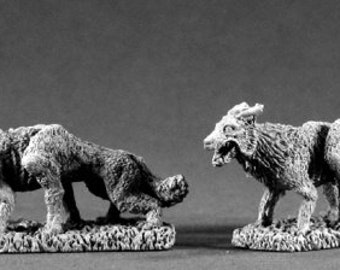 02160: Blood Wolves - Reaper Miniatures