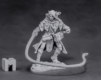 03864: Belthual, Elf Chronicler - Reaper Miniatures