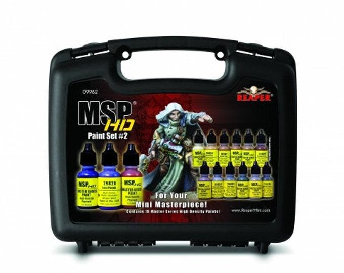 09962: Master Series HD Paint Set #2 - Reaper Miniatures