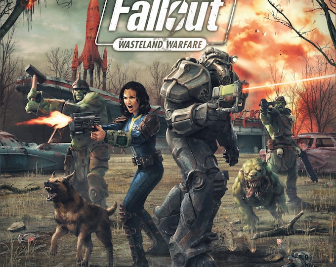 Fallout: Wasteland Warfare - Two Player Starter Game - Modiphius Entertainment