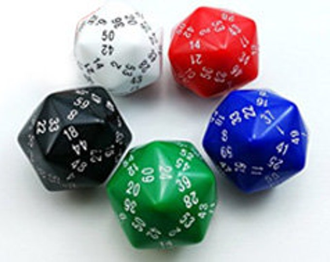 Unusual Dice - d60 Sixty-Sided Die