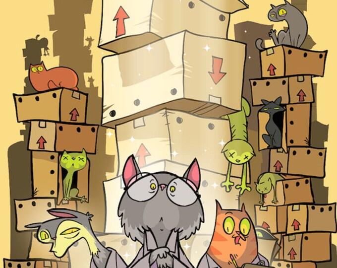 Schrodinger's Cats - Ninth Level Games