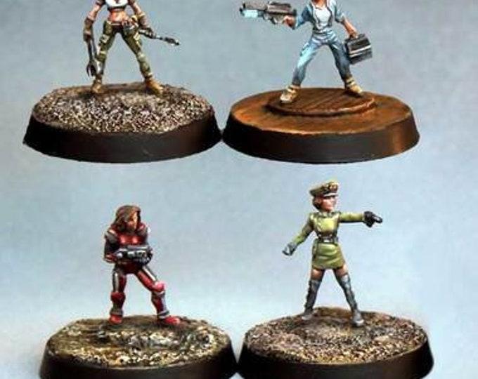 15001: Microbabes Set - Bombshell Miniatures