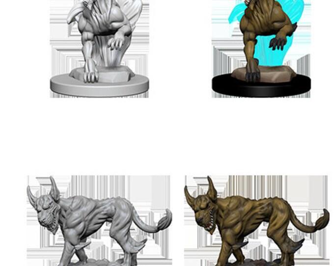 Nolzur's Marvelous Unpainted Minis: Blink Dogs - 72568 - WizKids