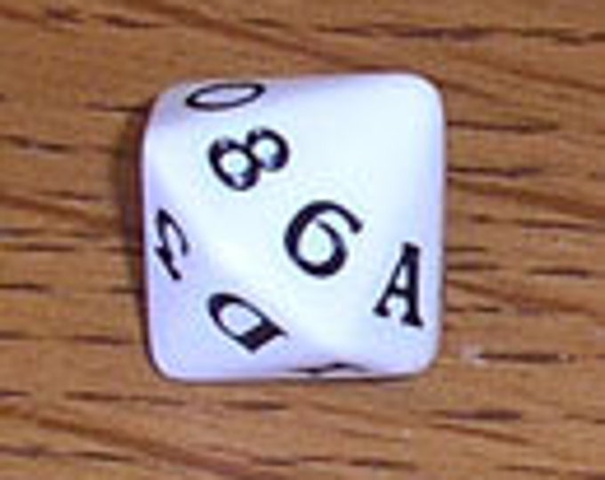 Unusual Dice - d16 Hexadecimal Die