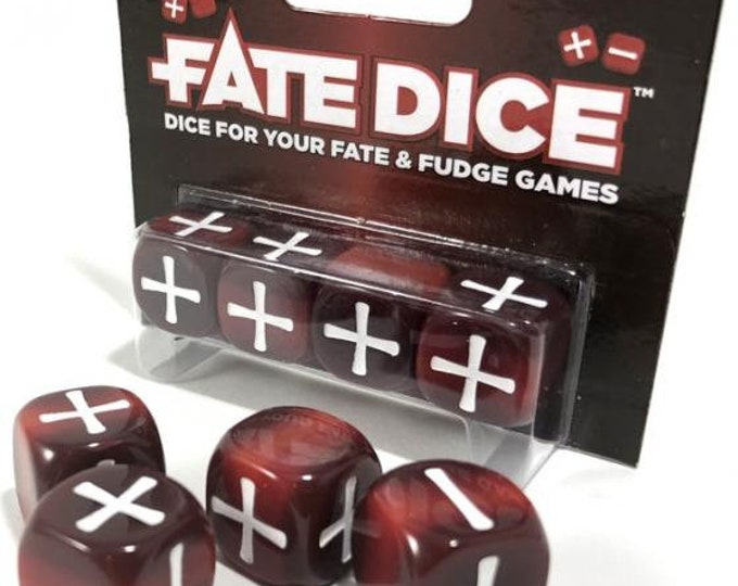 Fate Dice: Infernal Dice - EHP9021 - Evil Hat Productions