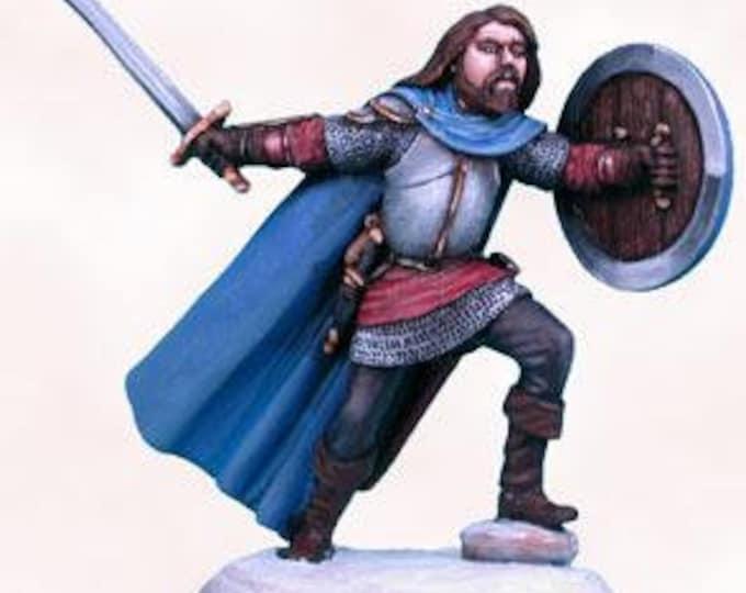Elmore Masterworks: Mountain Conflict, Male Fighter w/Sword - 1131 - Dark Sword Miniatures