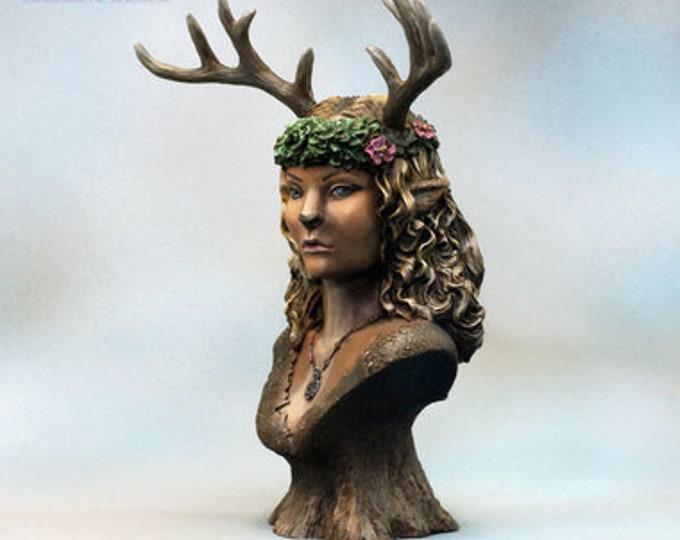 70001: Morihalda Forest Spirit Bust - Bombshell Miniatures