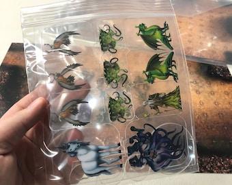 Flat Pack Miniatures: Mini Sampler Pack - ArcKnight