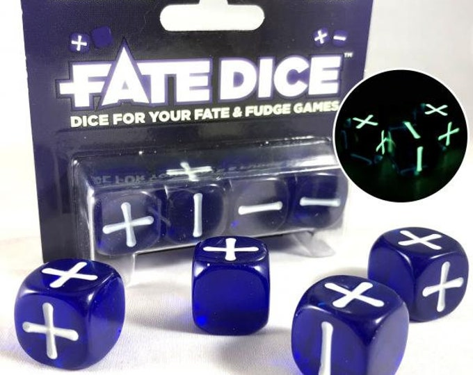 Fate Dice: Midnight Dice - EHP9020 - Evil Hat Productions
