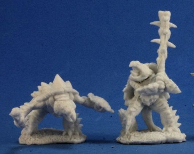 77270: Spikeshell Warriors (2) - Reaper Miniatures