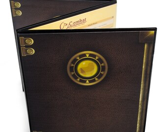 Stratagem Master's Tome Customizable DM Screen: Black