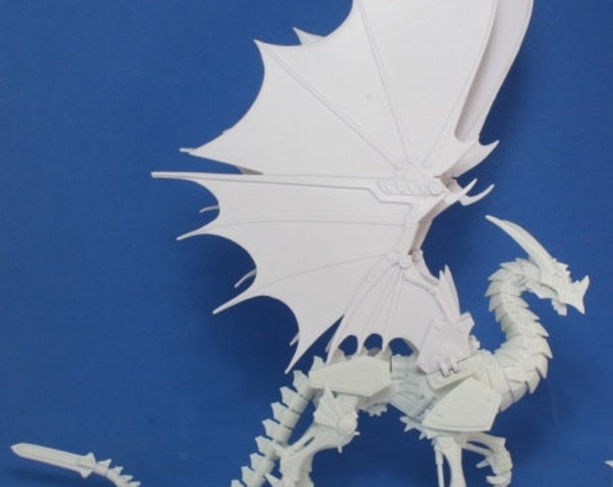77177: Wyrmgear, Clockwork Dragon - Reaper Miniatures