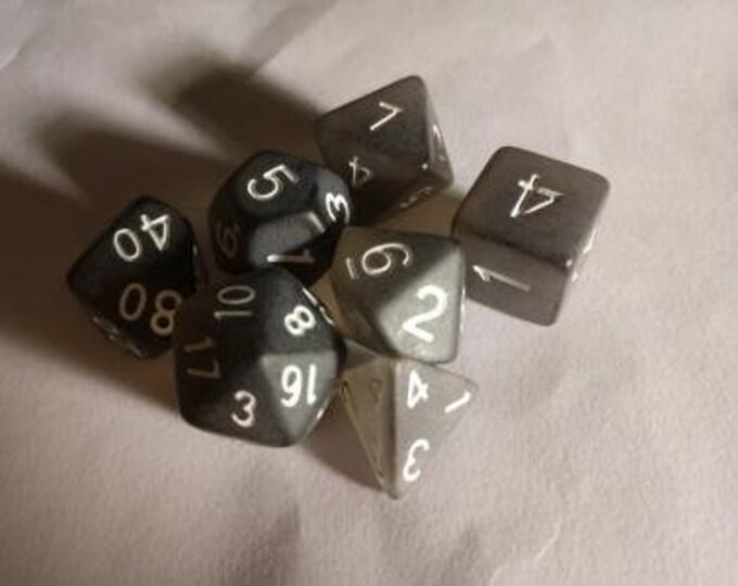 Frozen Abyss - 7 Die Polyhedral Set