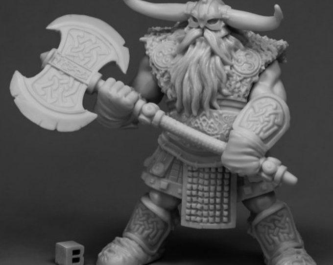 77544: Frost Giant Warrior (1H Axe) - Reaper Miniatures
