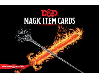 D&D 5th Edition: Magic Item Cards - Gale Force 9