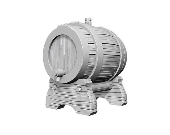 Wizkids Unpainted Minis: Keg Barrels - 72584 - WizKids