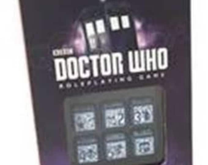 Doctor Who RPG: Deluxe Dice Set - CB71130 - Cubicle 7 Entertainment