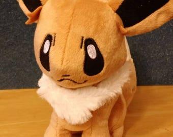 Plush Pokemon: 8 inch Eevee