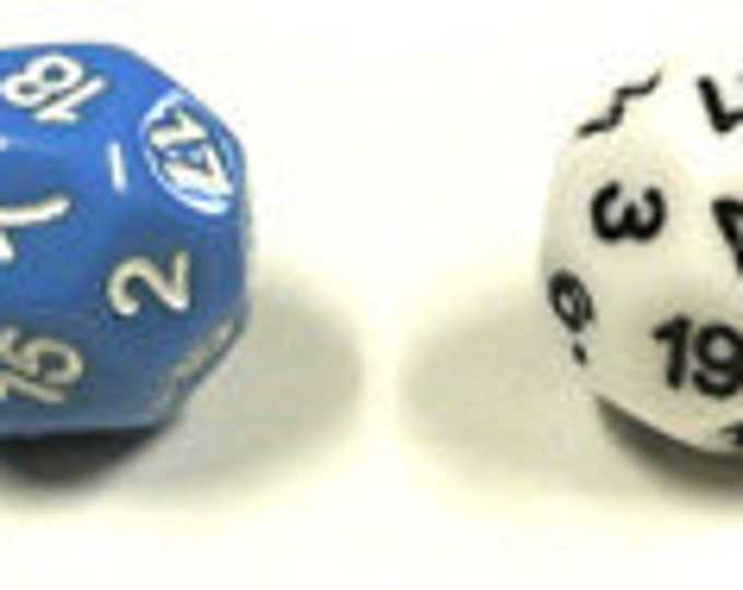 Unusual Dice - d22 Twenty-Two-Sided Die