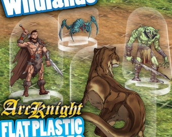 Flat Pack Miniatures: Wildlands - ArcKnight
